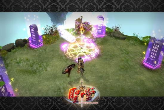 游戏经典再现魔主妄天与邪神莫山在断天涯的巅峰决斗