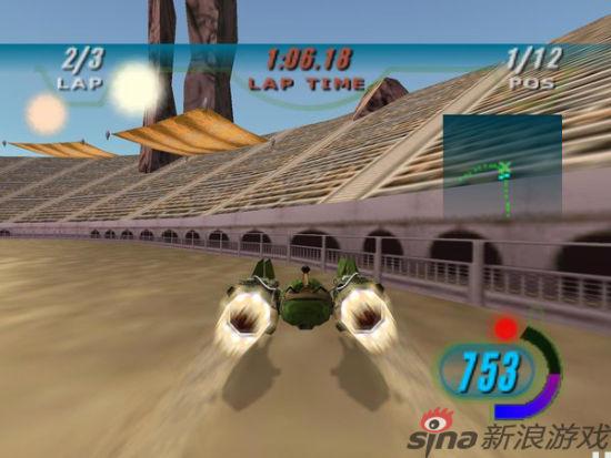 NGC代表游戏:星战前传1急速飞车