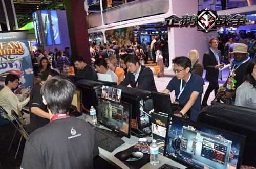 玩家E3现场试玩《企鹅战争》