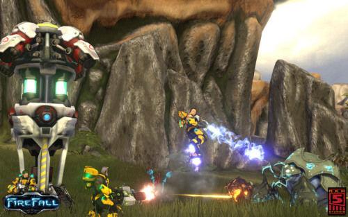 《Firefall》遊戲截圖