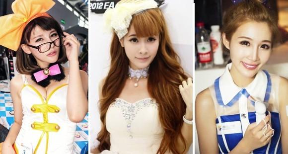 甜美可人小清新 Chinajoy高质量美女一览