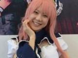 日本cosplay现身梦宝谷