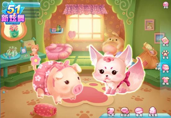 可爱卖萌的幸福猪宝宝,魅惑诱人的调皮狐狸宝宝