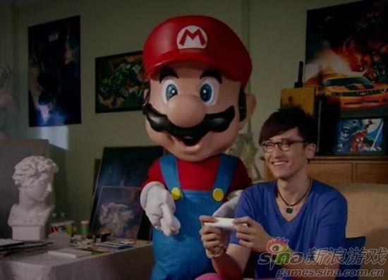 可爱马里奥和Wii都出现啦