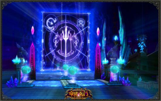 魔晶王座中的巨型命运卡牌