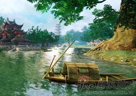 《轩辕剑7》截图景深层次感明显,光影效果处理逼真