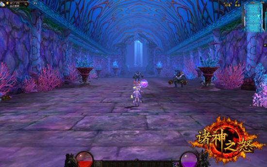 游戏欧式宫殿场景