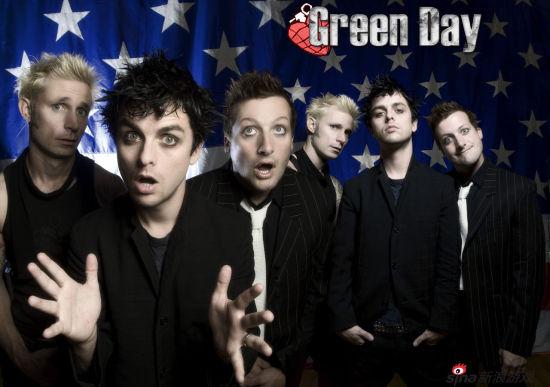 朋克风格浓郁的Green Day乐队