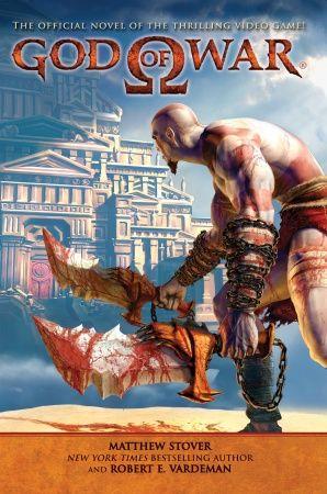 《God of War|战神》原版小说封面