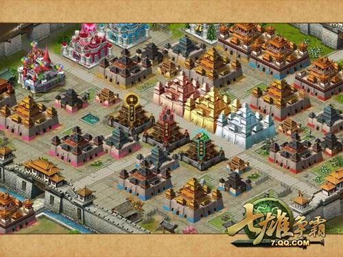 游戏内城风景图