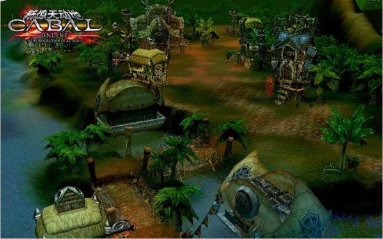 《新惊天动地》实景截图-暮色雨林