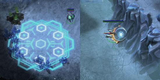 左:先知(掩埋技能);右:风暴战舰