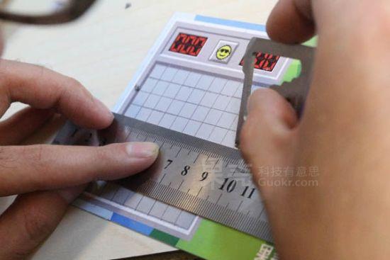 纸上扫雷明信片制作教程图片