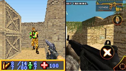 手机游戏的画面效果也在这几年间得到了突飞猛进的发展