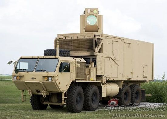 美军研发的激光战车,连外形也酷似光棱坦克