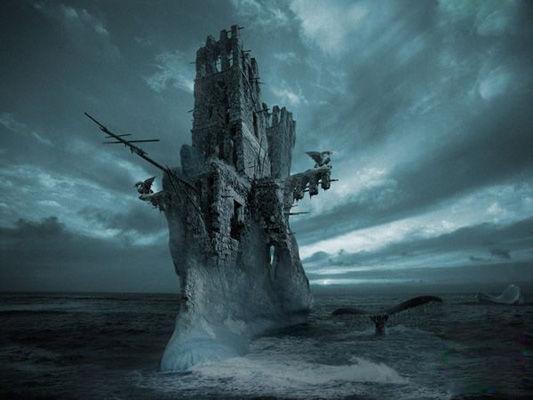 神秘幽灵船