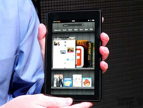 iPad Mini公开后,Kindle的销量比往常还好。