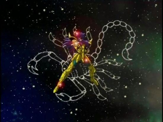 天蝎座黄金圣斗士