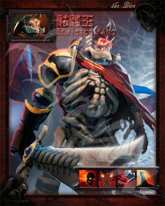 【夜魇力量】骷髅王