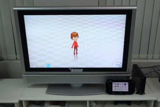 WiiU独特的双屏幕显示