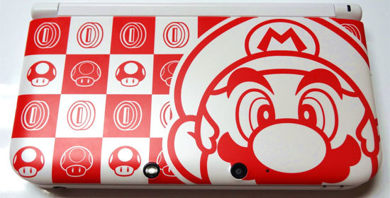 神游3DS XL(马力欧・白)