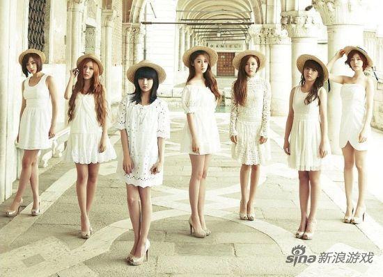 韩国百变女团t-ara