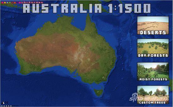 澳大利亚地图