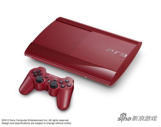 新红蓝配色PS3主机