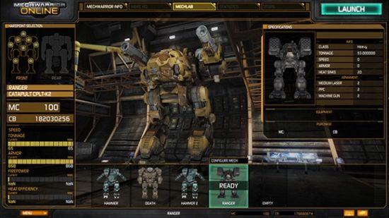 《机甲战士OL》游戏截图