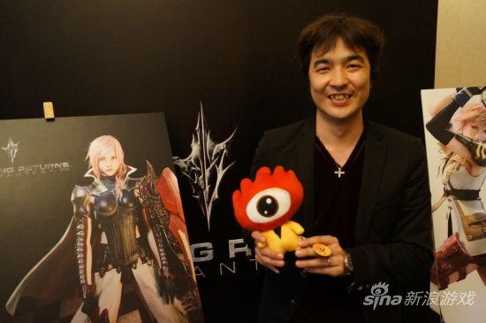 最终幻想13制作人鸟山求先生