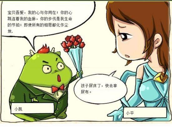 玩家浪漫告白,女主角蹭得累