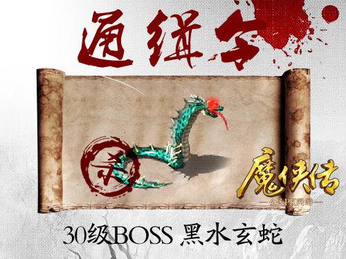 通缉令 魔侠传世界四大BOSS全国追击