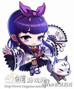 """""""阴阳师-神那""""与灵物""""花狐""""是共患难的战斗伙伴_台湾游戏网"""