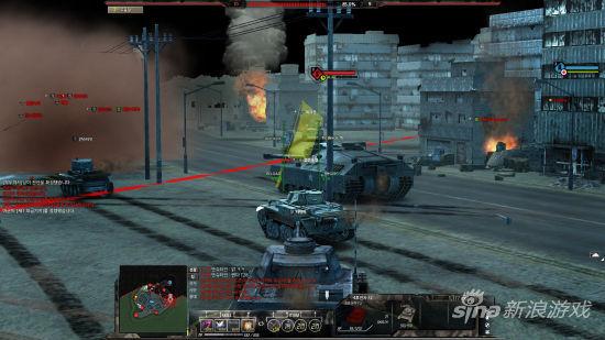 韩视频网游《Blitz2》多部坦克曝光_网络游戏精品视频日韩图片