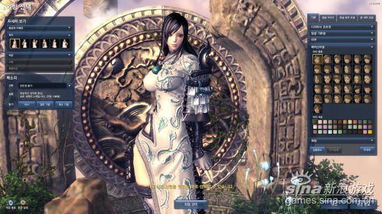 剑灵性感美女捏脸数据