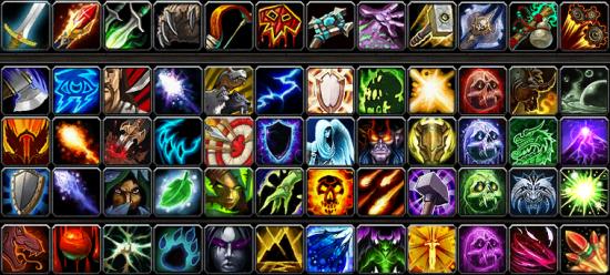 玩家曝光的魔兽世界新图标