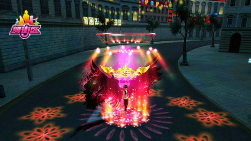 神也臣服《舞街区》神秘翅膀瞩世降临图片