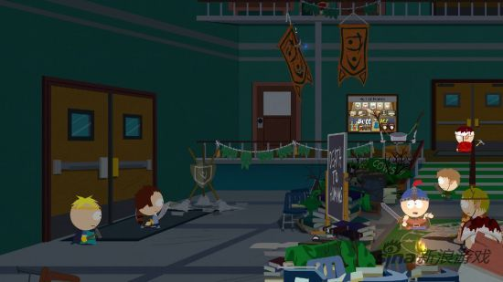 《南方公园:真理之杖》游戏画面