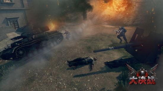 坦克大战《大决战》载具系统大阅兵