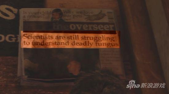 《神秘海域3:德雷克的诡计》游戏画面报纸截图
