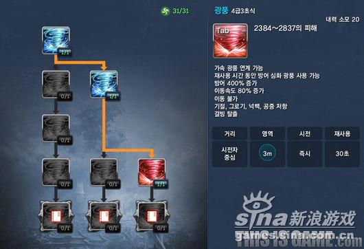 狂风 (4级 3初式)