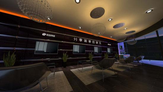 游族网络展台设计图