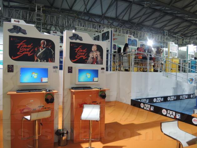 CJ 剑灵展台