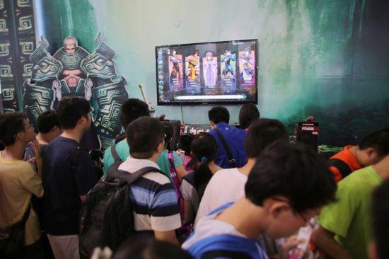 《轩辕剑6》在CJ期间引发试玩热潮