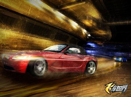 街机赛车游戏