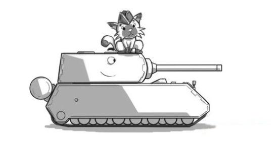 玩家手绘q版欧服《坦克世界》漫画