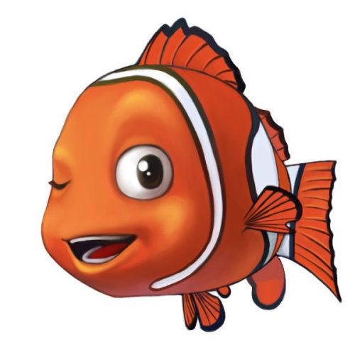 小丑鱼图片卡通-捕鱼达人2 之你捉大鲨鱼,我送小 金 鱼活动