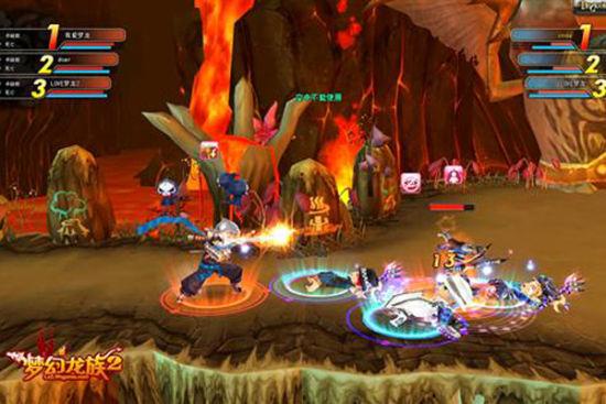 图9:梦幻龙族2战斗截图