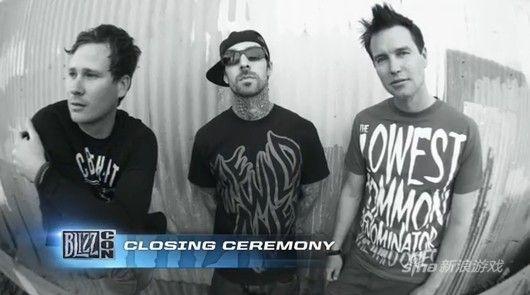 Blink-182摇滚乐队将为BlizzCon2013做压轴演出