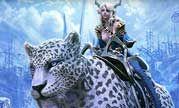 《TERA》美服冬季原画赛优秀奖获稀有雪豹座骑